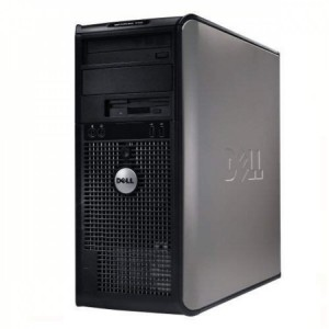 Calculator Dell Optiplex 755, Intel Core2 Duo E6750 2.66GHz, 2GB DDR2, 250GB SATA, DVD-RW