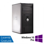 Calculator Dell OptiPlex 380 Tower, Intel Pentium Dual Core E5700 3.00GHz, 2GB DDR3, 250GB SATA, DVD-RW + Windows 10 Pro