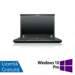 Laptop LENOVO ThinkPad T530, Intel Core i5-3320M 2.60 GHz, 8GB DDR3, 320GB SATA, DVD-RW, 15 Inch + Windows 10 Pro