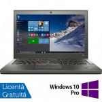 Laptop Lenovo Thinkpad X250, Intel Core i5-5300U 2.30GHz, 8GB DDR3, 120GB SSD, 12.5 Inch + Windows 10 Pro