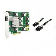 HP 24 Bay 3GB SAS Expander Card + 2 cabluri SFF 8087