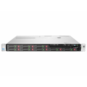 Server HP ProLiant DL360e G8, 1U, 2x Intel Octa Core Xeon E5-2450L 1.8 GHz-2.3GHz, 48GB DDR3 ECC Reg, 2x SSD 240GB SATA + 2x 900GB SAS/10k, Raid Controller HP SmartArray P420/1GB, iLO 4 Advanced, 2x Surse HOT SWAP
