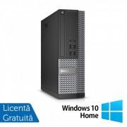 Calculator DELL OptiPlex 7020 SFF, Intel Core i3-4160 3.60GHz, 4GB DDR3, 500GB SATA, DVD-RW + Windows 10 Home