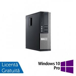 Calculator Dell OptiPlex 990 SFF, Intel Core i5-2400 3.10GHz, 8GB DDR3, 120GB SSD, DVD-ROM + Windows 10 Pro