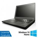 Laptop Refurbished LENOVO Thinkpad x240, Intel Core i5-4300U 1.90GHz, 4GB DDR3, 500GB SATA + Windows 10 Home, 12.5 Inch