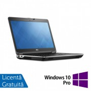 Laptop DELL Latitude E6440, Intel Core i5-4300M 2.60GHz, 4GB DDR3, 320GB SATA, DVD-RW, 14 inch + Windows 10 Pro