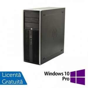 HP Elite 8100 Tower, Intel Core i3-550 2.70GHz, 4GB DDR3, 250GB SATA, DVD-ROM + Windows 10 Pro