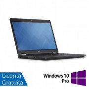 Laptop DELL Latitude E5250, Intel Core i5-5300U 2.30GHz, 16GB DDR3, 500GB SATA, 13 Inch + Windows 10 Pro
