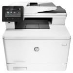Multifunctionala Laser Color HP LaserJet Pro MFP M377dw, Duplex, A4, 24ppm, 600 x 600 dpi, Scanner, Copiator, USB, Retea, Wireless, Tonere Noi