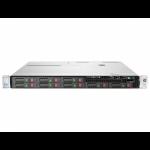 Server HP ProLiant DL360e G8, 1U, 2x Intel Octa Core Xeon E5-2450L 1.8 GHz-2.3GHz, 12GB DDR3 ECC Reg, 2x 146GB SAS/10k, Raid Controller HP SmartArray P822/2GB, iLO 4 Advanced, 2x Surse HOT SWAP