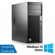 Workstation HP Z230 Tower, Intel Quad Core i7-4770 3.40GHz-3.90GHz, 16GB DDR3, 2TB SATA, DVD-RW, nVidia K620/2GB + Windows 10 Home