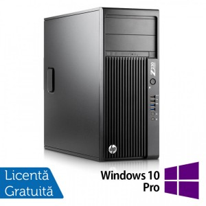 Workstation HP Z230 Tower, Intel Quad Core i5-4690 3.50GHz-3.90GHz, 8GB DDR3, 1TB SATA, DVD-RW, nVidia K620/2GB + Windows 10 Pro
